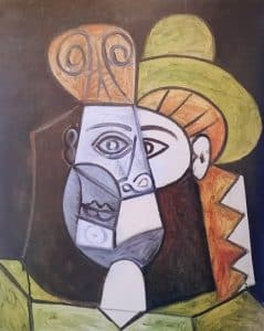 Head of Woman - Picasso 1947